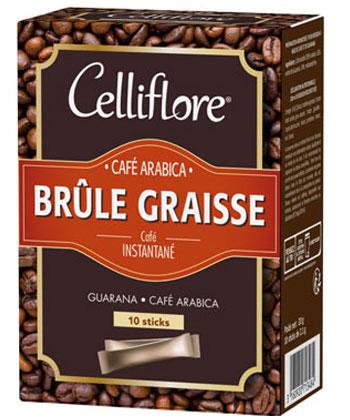 Celliflore Kaffee verbrennt Fett