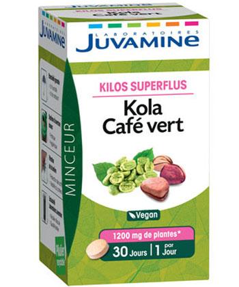 Juvamine Kola Green Coffee
