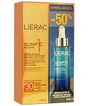 Lierac Box Sun / Después Velvet Sun Antienvejecimiento Face Cream SPF