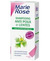 Marie Rose Shampoing anti-poux et lentes aux actifs naturels