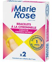 Marie Rose Pulseras de Lemongrass