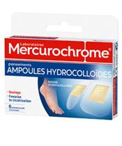 Mercurochrome Pansements Hydrocolloïdes Ampoules
