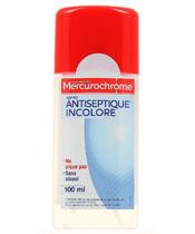 Mercurochrome Desinfektionsspray Farblos