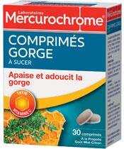Mercurochrome Compresse per la gola