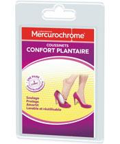 Mercurochrome Fuss-Kissen Comfort