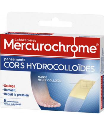 Mercurochrome Pansements hydrocolloïdes cors