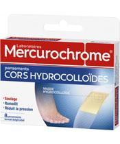 Mercurochrome Apósitos hidrocoloides cuernos