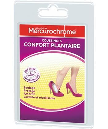 Mercurochrome Pads comodidad del pie