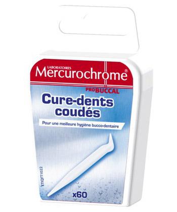 Mercurochrome Cure-Dents Coud�s