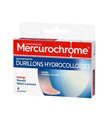 Mercurochrome Hydrokolloidverbänden Schwielen