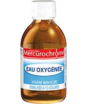 Mercurochrome El peróxido de hidrógeno