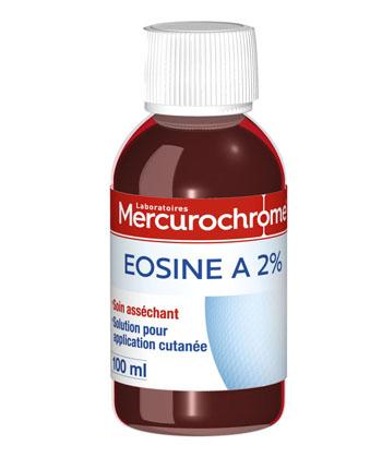 Mercurochrome Solución de eosina de 2%