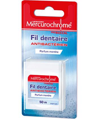 Mercurochrome Antibacterial Dental Floss