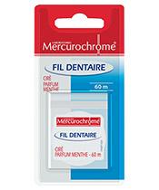 Mercurochrome Fil Dentaire Mentholé