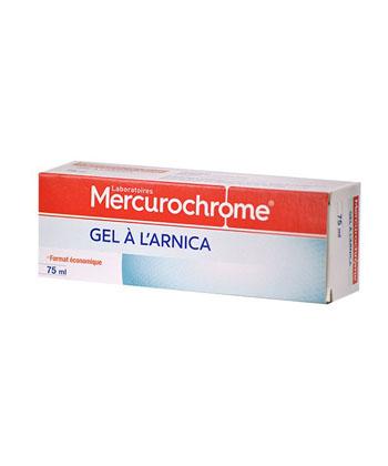Mercurochrome Arnica Gel