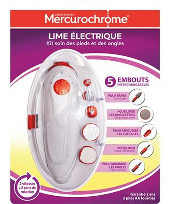 Mercurochrome lima eléctrica