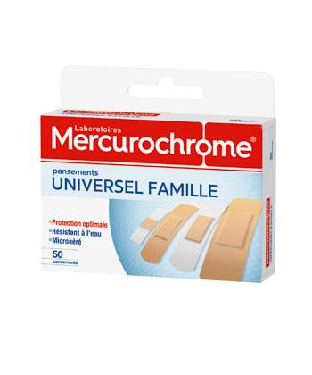 Mercurochrome Dressing Universal Family