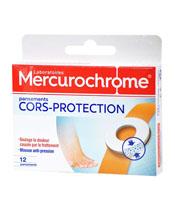 Mercurochrome Schwielen Putze
