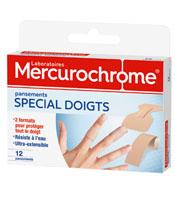Mercurochrome Dressings Fingers