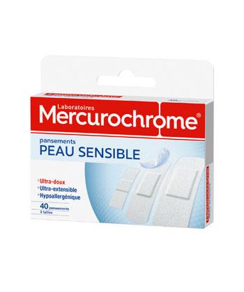 Mercurochrome Pansements Peau Sensible
