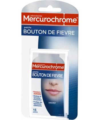 Mercurochrome Patch herpes labial