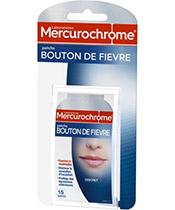 Mercurochrome Patchs Bouton de Fièvre