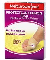 Mercurochrome cebolla protector