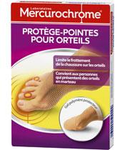 Mercurochrome Zehenschutz für die Zehen