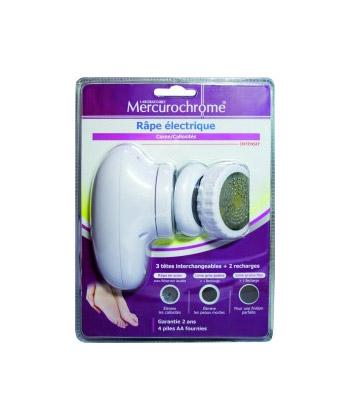 Mercurochrome Rallador eléctrico