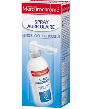 Mercurochrome Orecchio Spray
