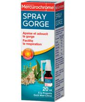 Mercurochrome Spray para la garganta