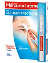 Mercurochrome Las imperfecciones de la pluma SOS