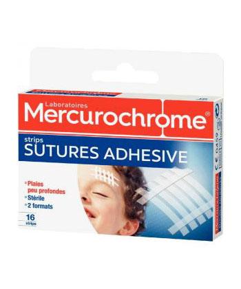 Mercurochrome Suturas Adhesivos