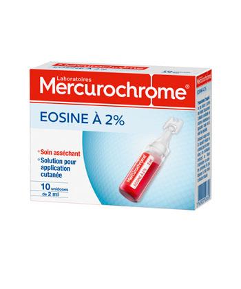 Mercurochrome Eosina 2%
