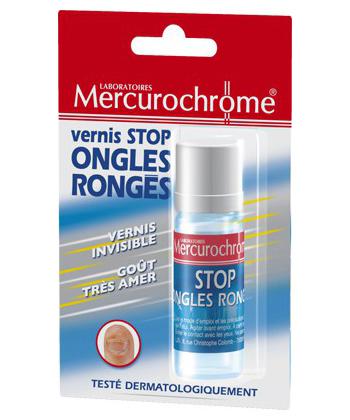 Mercurochrome Barniz Detener Nail roía