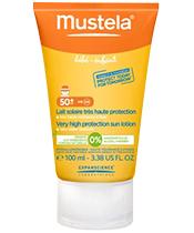Mustela Lait Solaire Très Haute Protection