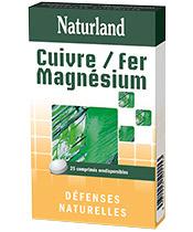 Naturland Cuivre Fer Magn�sium