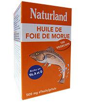 Naturland Olio di fegato di merluzzo