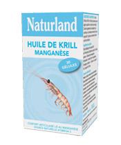 Naturland Manganeso El aceite de krill