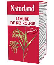 Naturland Levure de Riz Rouge