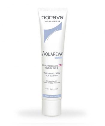Noreva Aquareva Crème Hydratante Texture Riche 24h