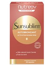 Nutreov Sunsublim bronceadora ultra