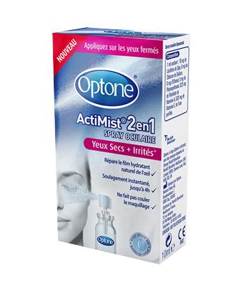 Optone ActiMist� 2en1 Yeux Secs + Irrit�s