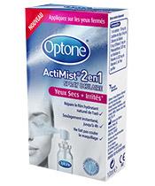 Optone ActiMist® 2en1 ojos secos Irritado +