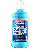 Oral B Los dientes enjuague bucal fuerte
