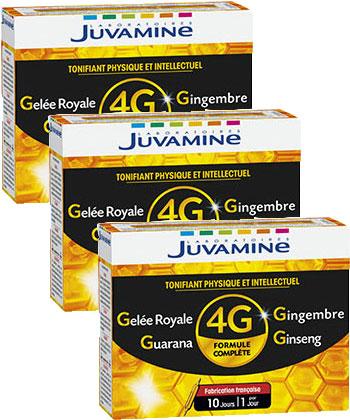 Juvamine Jalea real jengibre Ginseng Guaraná