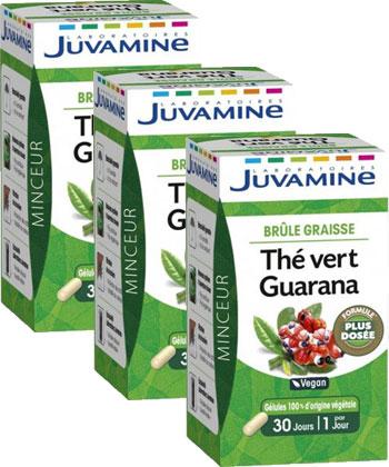Juvamine Grüner Tee Guarana