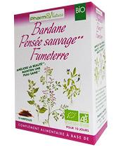 Pharm & Nature Bardane Pensée Sauvage Fumeterre