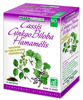 Pharm & Nature Hamamelis Cassis Ginkgo Biloba