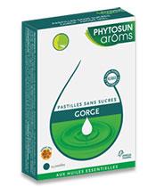 Phytosun Aroms Pastillas para la garganta